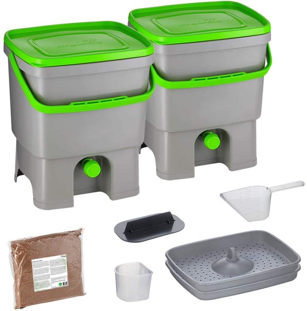 Lot de bac à compost de cuisine de la marque Skaza Exceeding Expectations