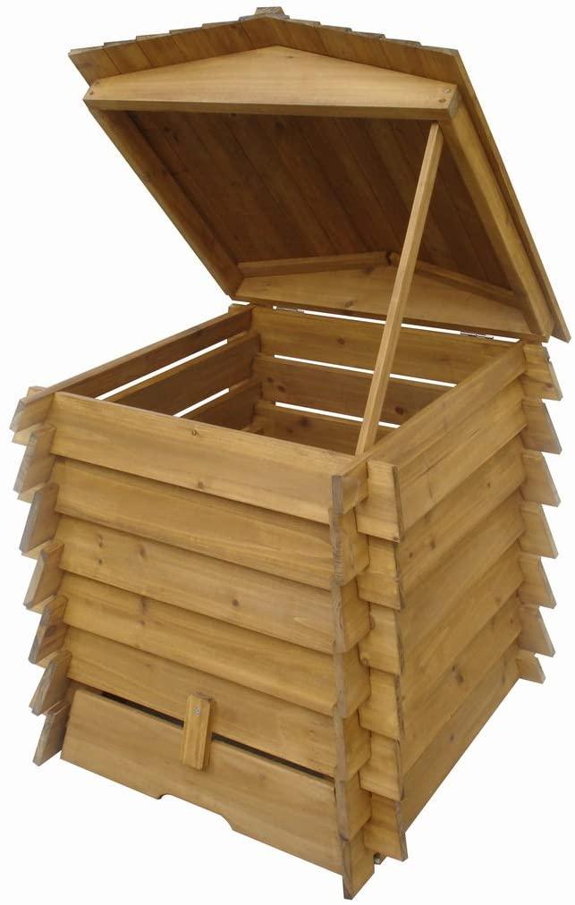 Composteur en bois Easipet