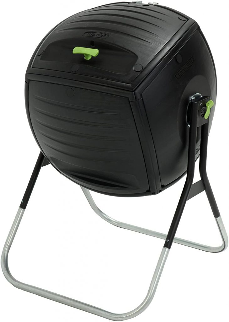 Composteur rotatif 189,3 litres de Lifetime